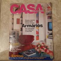 Revista Casa Claudia 2/2002 Almofadas Cubas Cozinha