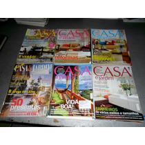 Lote Com 24 Revistas Decoração Jardinagem Casa & Jardim