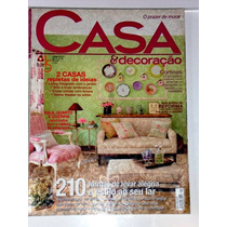 Casa & Decoração Ed.38-out\2010-otimo Estado