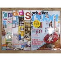 Decoração Casa/ambiente Lote Com 6 Revistas