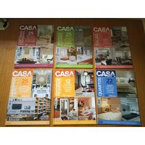 Coleção Casa Claudia (6 Revistas) - Seleção De Projetos