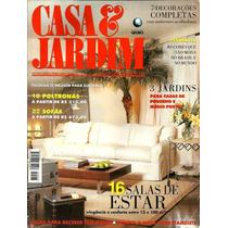 Revista Casa & Jardim - Ano 45 - Nº 523 - Globo - F/gratis