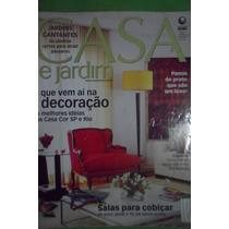 Revista Casa E Jardim Ano 51 Nº 597 Decoração