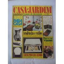 Revista Casa E Jardim N 266 Maio De 1977 -