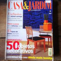 Revista Casa E Jardim - 50 Objetos