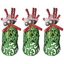 Mini Sino De Natal Natalino Decoracao Kit Com 3 Uni