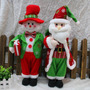 Boneco Papai Noel Gigante + Boneco De Neve, Decoração Natal