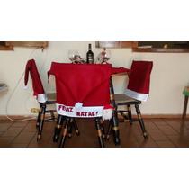 Capa Para Cadeira Gorro De Papai Noel