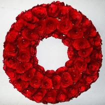 Guirlanda Para Decoraçao Rosas Vermelhas