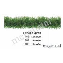 Festão Fugiron Verde- Medida De 5cm X 5 Metros Comprimento