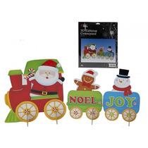 Decoração De Natal - 6pc Cartão Xmas Recados Decs 2 W