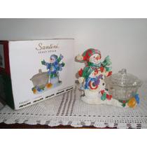Decoração De Natal Santini Porta Balas/bombom
