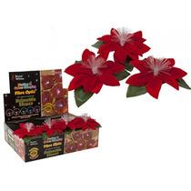 Decoração De Natal - Auto-adesivo Decorativo Fibra Óptica