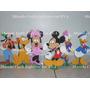 6 Enfeites/decoração Turma Do Mickey