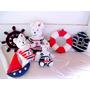 Ursos Marinheiros Kit Decoração Festa Aniversário Infantil