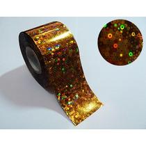 12 Metros Adesivo De Unha Nail Foil Transfer Holográfico