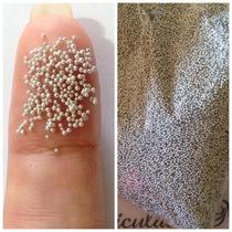Caviar Prata Para Unhas