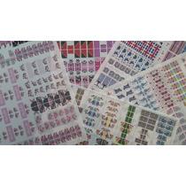 Películas De Unhas - Impressas - 1400 Cartelas
