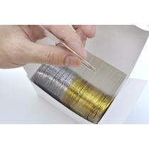 10 Rolos De Fita Adesivas Metalizadas 5 Douradas 5 Pratas