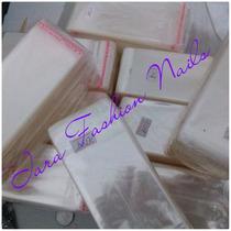 Saquinho Plastico Adesivado Bopp --- Tam 6x12 / 1000und