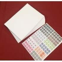 50 Folhas Imprimir Adesivos Unhas Peliculas Gel