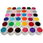 Kit Unhas Gel Uv Colorido 24 Cores - Acrygel + Película.