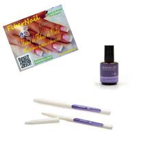 Unhas De Fibra Selante Uv + Caneta Primer + Fibra Fiber Nail