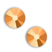 Metal Sextavado Dourado 2mm 1000 Unidades Piercing Para Unha