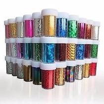 Nail Foil Varias Cores - Unidade