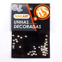 Nail Supply Unhas De Spike Redondo Prata 3g Nail Art