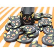 Fatias De Fimo Para Decoração De Unhas Halloween Nail Art
