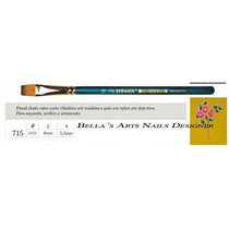 Pincel Para Carga Dupla / One Stroke Keramik 715-4
