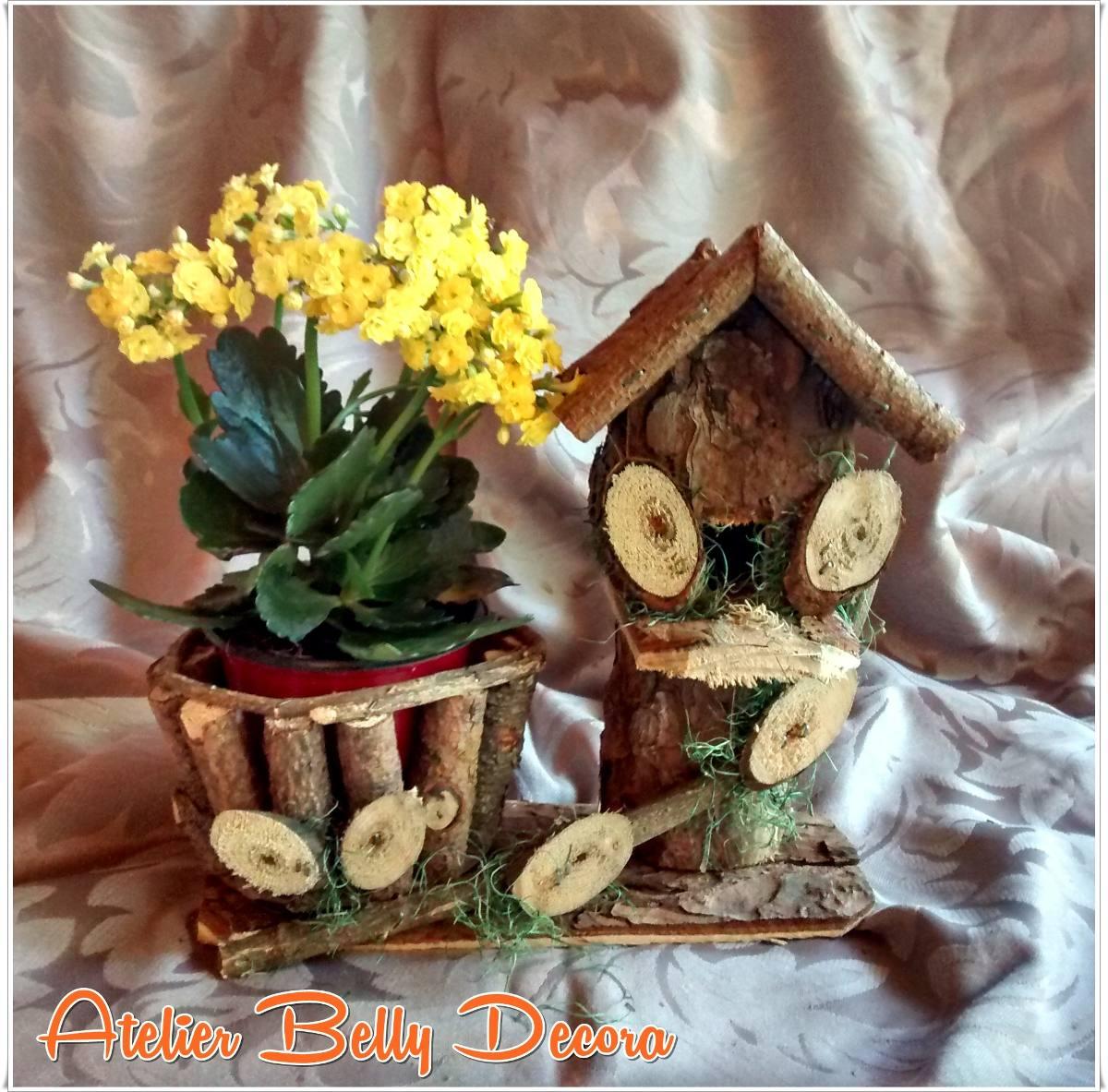 Adesivo Para Box De Banheiro ~ Decoraç u00e3o Jardim Madeira Rustica Artesanal Casa Cachep u00f4 Flor R$ 25,19 no MercadoLivre