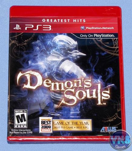 Demons Souls - Americano - Lacrado