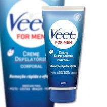 Creme Depilatório Veet Para Homens For Men 90ml