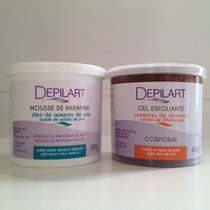 ( 25% Off ) Depilart Kit Mousse E Esfoliante - S. De Uva