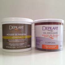 ( 25% Off ) Depilart Kit Mousse E Esfoliante - Verbena