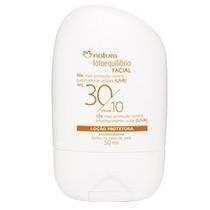 Protetor Facial Natura Fotoequilibrio Fator 30/10 50ml