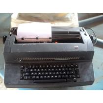 Maquina De Escrever Eletrica Ibm - Funcionando