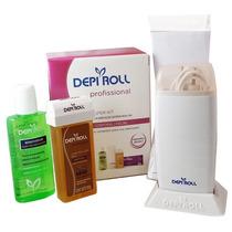 Kit Para Depilação Depi Roll Sistema Roll-on Profissional