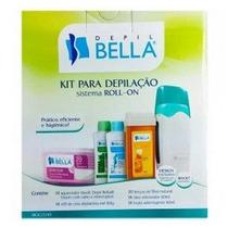 Depil Bella Kit Para Depilação Roll On Bivolt