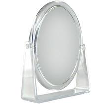 Klass Vough Espelho De Aumento 7x Redondo Bm-1255 - Transpar