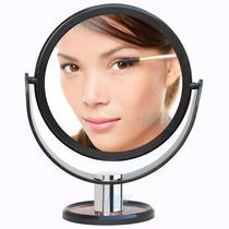 Espelho De Aumento 5x Avon Preto Maquiagem Mesa Banheiro
