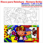 Riscos The Hug De Romero Britto
