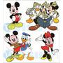Vetores Mickey Para Convites,estampas,plotagem,adesivos,silk
