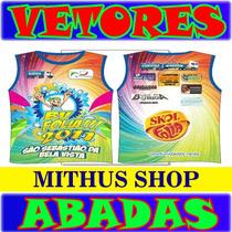 Kit Abadas Editaveis Carnaval Camisas Vetores + Brinde
