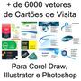 +6000 Vetores De Cartões De Visita