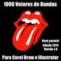 1000 Vetores De Bandas De Rock Para Corel Draw Pacote 2014