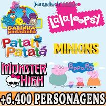 Dvd Lalaloopsy Patati Patata Monster High Galinha Pintadinha