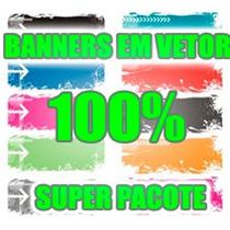 Banners Pack Vetor Editaveis Para Sites Blog Loja Virtual
